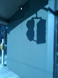 stoplight shadow