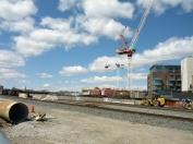 Cranes to go up...