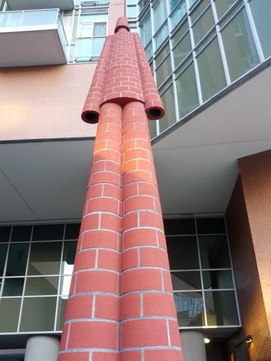 Brickman by Inges Idee - located at Jarvis & Adelaide