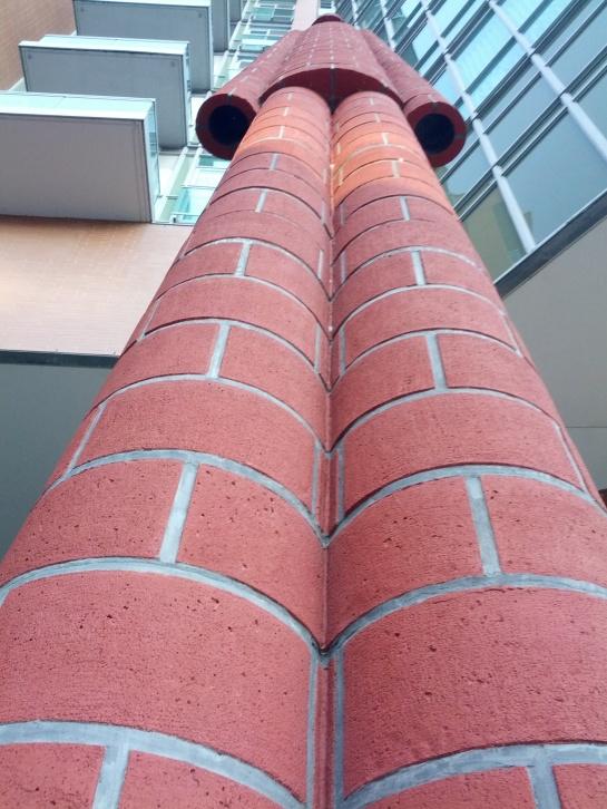Brickman, close up.